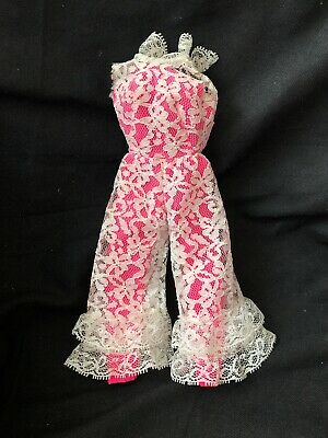 $ CDN35.34 • Buy Vintage Barbie Mattel TAGGED Clothes Mod Era Outfit 1823 JUMP INTO LACE Nice!