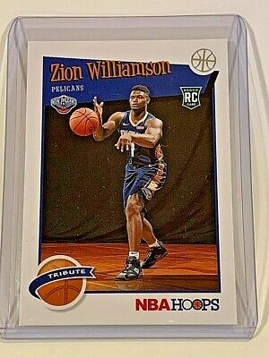 $11.95 • Buy 2019-2020 Hoops Zion Williamson Tribute #296 Rookie RC - Pack Fresh!