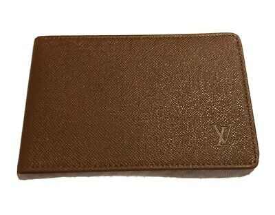 AU429 • Buy Authentic Louis Vuitton Card Holder, Brown With Logo, BNWOT, Amazing Quality