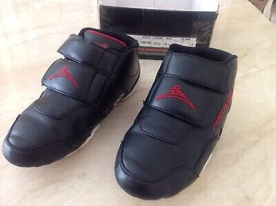 $22 • Buy Ringstar Fight Pro Sparring Shoes, Men's Size 8, Black Red Karate Tae Kwon Do