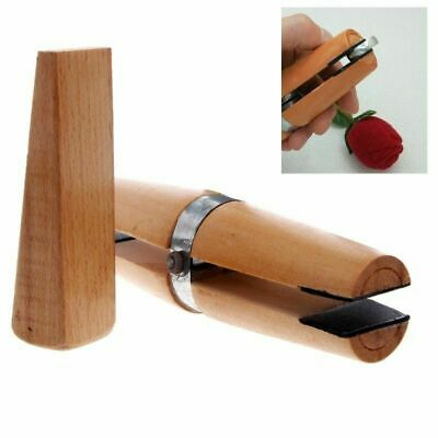 Wooden Ring Jewelry Clamp With Wedge Jewellery Craft Tool For Polishing Tool Kit • 5.69£