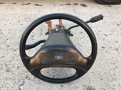 $450 • Buy 94-97 Ford Truck F 150 250 350 STEERING COLUMN No Air Bag No Tilt W/ OD Button