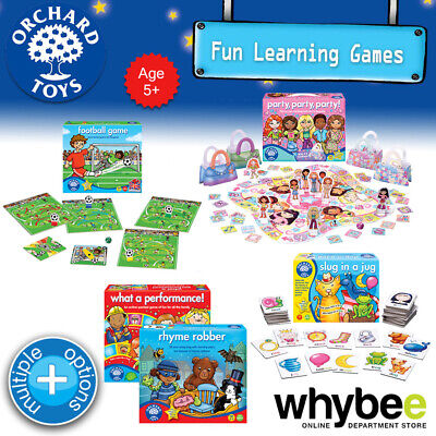 AU15.75 • Buy Orchard Toys Age 5yrs+ Fun Learning Games Puzzles Educational For Kids Children