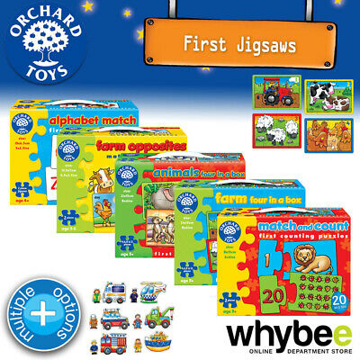 £6.61 • Buy Orchard Toys 3yrs+ First Jigsaw Puzzles Fun Learning Educational Kids Children