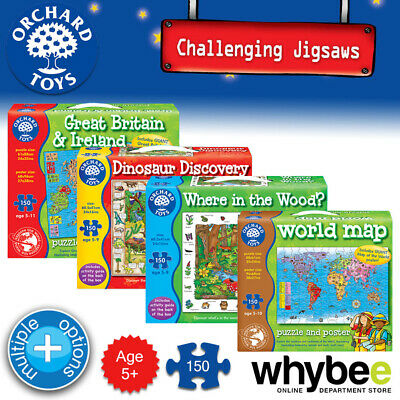 £9.26 • Buy Orchard Toys Age 5yrs+ Fun Learning Challenging Jigsaws Puzzles Kids Children