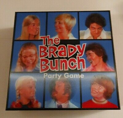 Prospero Hall Published Big G Creative The Brady Bunch Party Game 3D Box • 3.58£