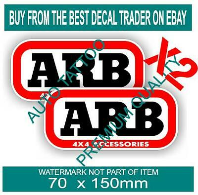 AU5.90 • Buy Arb 4x4 Decal Sticker Off Road 4wd Accessories Toolbox Car Truck Ute Suspension
