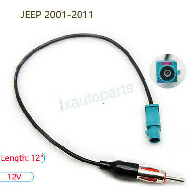 $9.89 • Buy Car Antenna Adapter Plug Aftermarket Stereo Radio Installation For JEEP 2001-11
