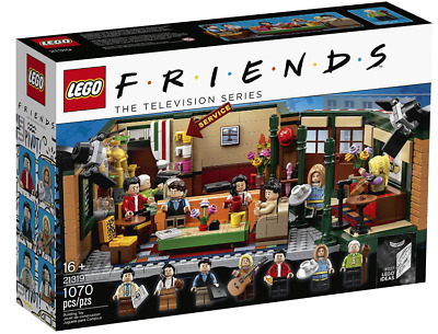 $64.99 • Buy Friends LEGO Ideas Central Perk Complete Set 25th Anniversary Authentic New Box