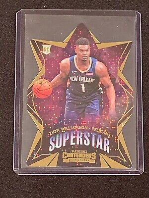$17.50 • Buy 2019-20 Panini Contenders ZION WILLIAMSON RC SUPERSTAR DIECUT ROOKIE PELICANS JM