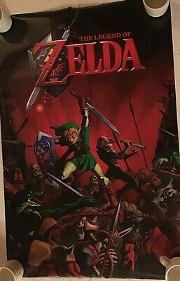 $34.95 • Buy The Legend Of Zelda Battle  Poster New # 10057sp 2014  35 1/2 X 24 Inches Rare