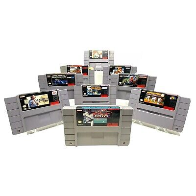 $ CDN42.27 • Buy Super Nintendo SNES Lot Of 90 Sports Games Michael Jordan Baseball Madden MLB