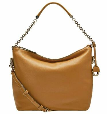 AU99 • Buy OROTON Orbit Zip Top Hobo Bag Soft Tan Leather Rrp $399