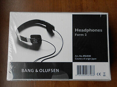 View Details B&O BeoPlay Form 2 On-Ear Semi Open Premium Headphones – Black - New & Sealed • 43.50£