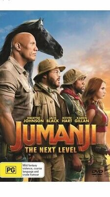 AU14.95 • Buy Jumanji The Next Level BRAND NEW R4 DVD