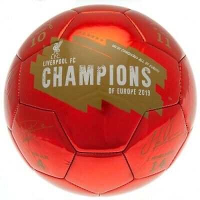 Football Liverpool FC Signature Size 5 Gift Official Signed Ball Set Adult Gift  • 12.99£