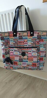 Kipling Large Travel Bag NEW (city Print)  • 90£