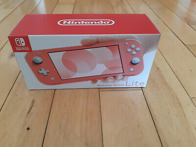 $ CDN399.99 • Buy ~ Nintendo Switch Lite ~ Coral Pink ~ Brand New In Box ~ Never Opened!