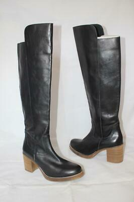 $69.99 • Buy New $215 MTNG Originals Women's BROOKE Tall Black Leather Boots Size 39 Fit 8 M