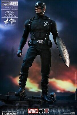 $255 • Buy Hot Toys MMS488 Captain America Concept Art Version 2018 Exclusive