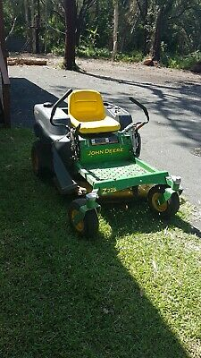 "AU2400 • Buy John Deere Z225 Zero Turn Ride On Mower 2007 18.5hp/42"" Cut Rider Grass Garden"