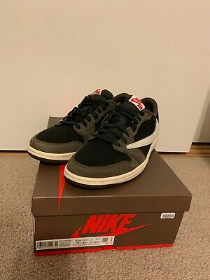 $650 • Buy Air Jordan 1 Travis Scott Low Retro OG Size 11.5 With Box Cactus Jack Deadstock