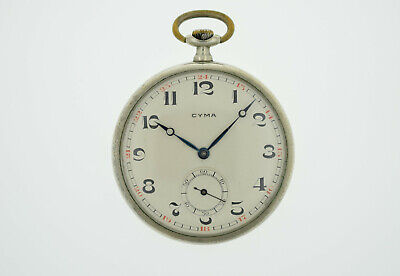£70.96 • Buy CYMA Vintage Pocket Watch Cal. Coppel Working (2680)
