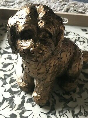 £19.95 • Buy Latex Mould To Create This Sitting Dog Ornament, Suitable For Plaster