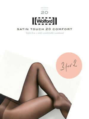 Wolford Satin Touch 20 Comfort Tights 3 For 2, Multipack  • 27.99£