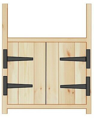 £229 • Buy Pine Rustic Farmhouse Style Kitchen Belfast Unit For 600mm Sink