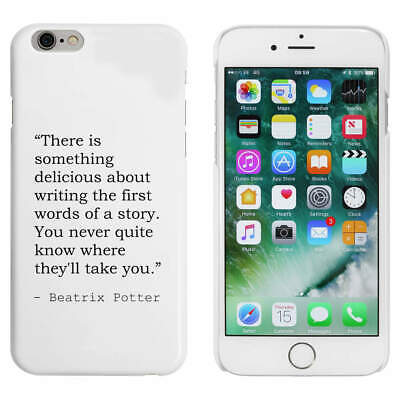 Writing Quote By Beatrix Potter Mobile Phone Cases / Covers (MC109064) • 8.99£