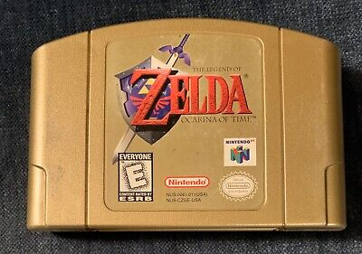 $49.99 • Buy Legend Of Zelda Ocarina Of Time Collector's Edition Nintendo 64 N64 Gold Cart