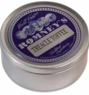 Romney's Treacle Toffee Travel Sweet Tin • 4.56£