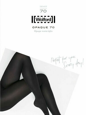 £23 • Buy Wolford Opaque 70 Tights, Black Or Admiral Blue