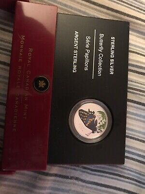 $40 • Buy 2006 Royal Canadian Mint Butterfly Coin Sterling Silver