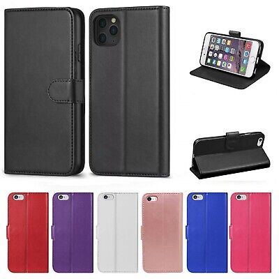 Case For IPhone 11 8 7 6 5 Plus Pro MAX XR SE 2 Luxury Leather Flip Wallet Cover • 2.99£