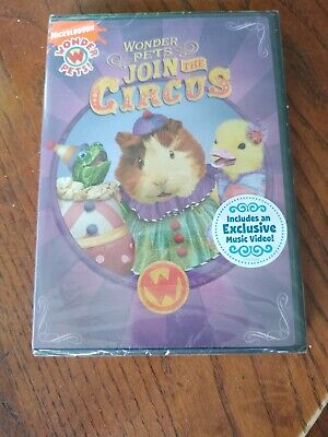 £7.24 • Buy New Wonder Pets - Join The Circus (DVD, 2009)