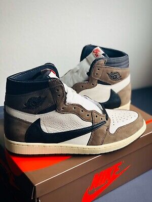 "$1000 • Buy Nike Air Jordan 1 High OG ""Travis Scott"" 2019 Size 11 *DEADSTOCK* 🔥"