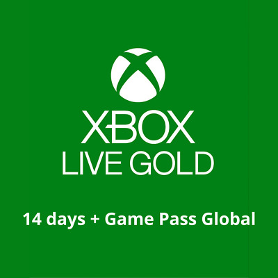 $3.89 • Buy Xbox Live Gold (One/360) - 14 Days + Game Pass Global Instant Delivery