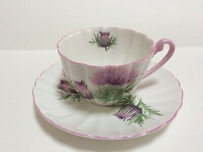 $35 • Buy Shelley Thistle Cup And Saucer
