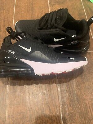 $78 • Buy Brand New Women's Nike AIR MAX 270 Running Shoes Black White Size 8 Hot