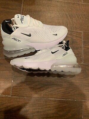 $78 • Buy Brand New Women's Nike AIR MAX 270 Running Shoes White Size 8