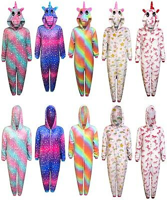 AU42.19 • Buy Unicorn 1Onesie Womens Pyjamas Ladies Sleepsuit Animal Adult Jumpsuit Costume
