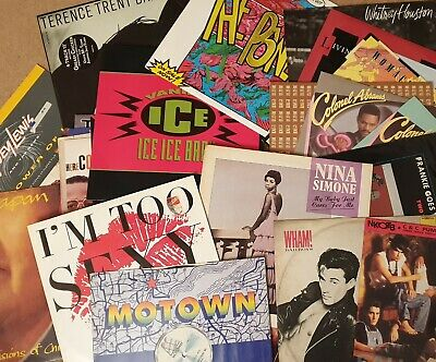 12  Vinyl Single SALE: Pick From 150+ Records: £1.99each 70s80s90s Buy 7+1 FREE! • 1.99£