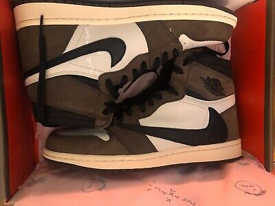 $355 • Buy Travis Scott Jordan 1 NEVER WORN JUST TRIED ON Passed The Authentication Test