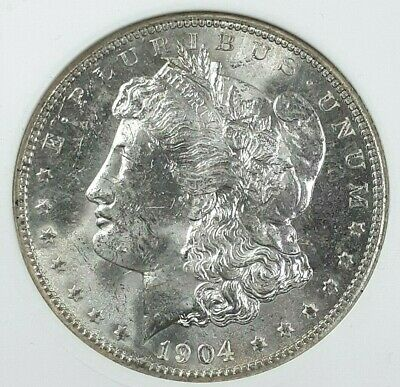 $43.99 • Buy 1904-o U.s. Morgan Silver Dollar - Anacs Ms63