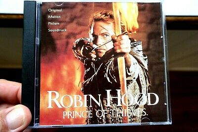 Robin Hood - Prince Of Thieves, Original Motion Picture Soundtrack  -  CD, VG • 9.04£