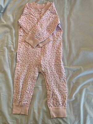 $10 • Buy Hanna Andersson 80 Pajamas Pink Leopard Print One Piece