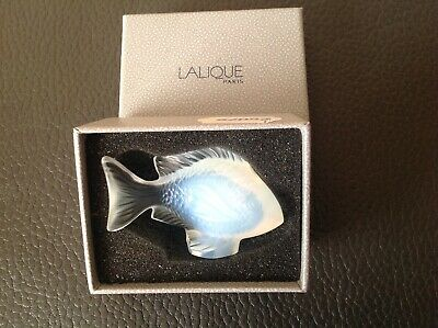 Lalique Crystal Opalescent Damsel Fish With Box  • 235£
