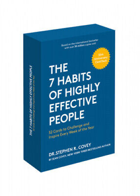 AU24.47 • Buy The 7 Habits Of Highly Effective People: 30th Anniversary Card Deck